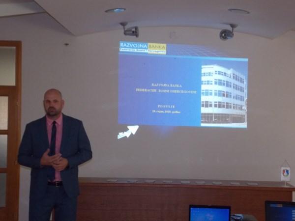 Održana prezentacija Razvojne banke FBiH