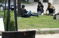 Skupina migranata zaustavljena blizu Graničnog prijelaza Kamensko