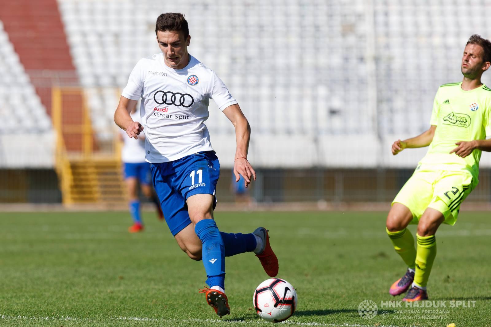 Autogol Barišića u porazu Dinama od Hajduka