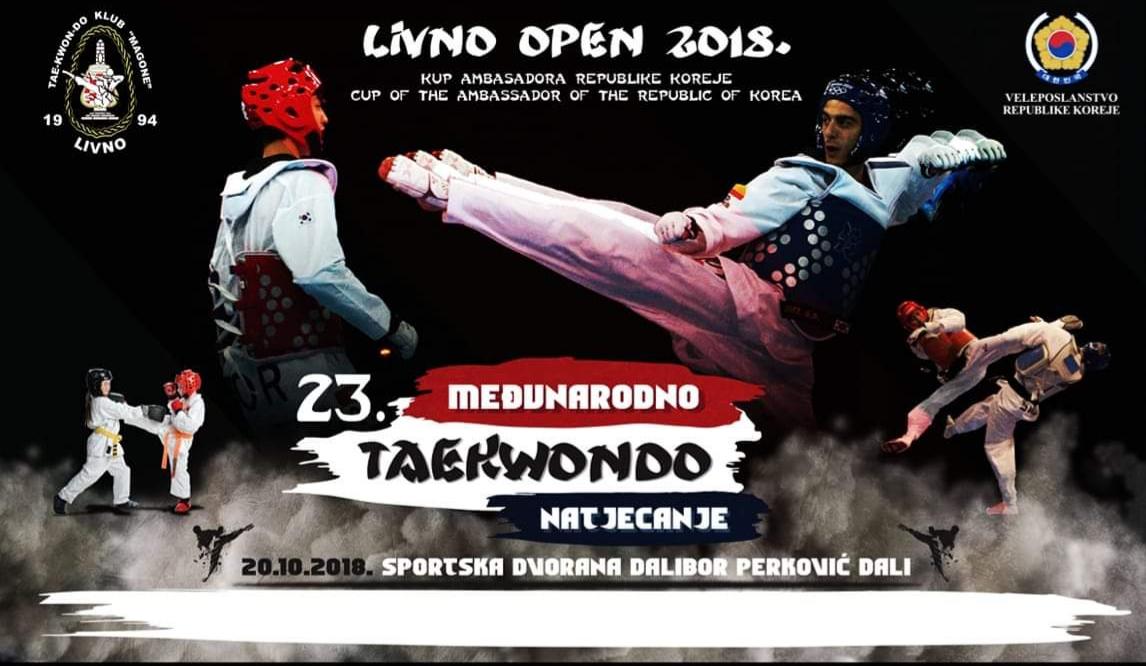 Taekwondo natjecanje u Posušju