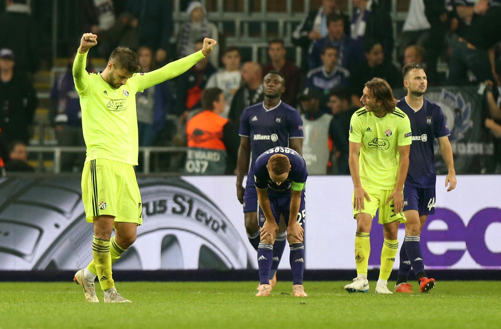 Dinamo konačno prekinuo prokletstvo! Pao je i Anderlecht