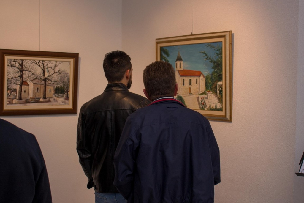 U Gorici otvorena izložba slika Branka Širića