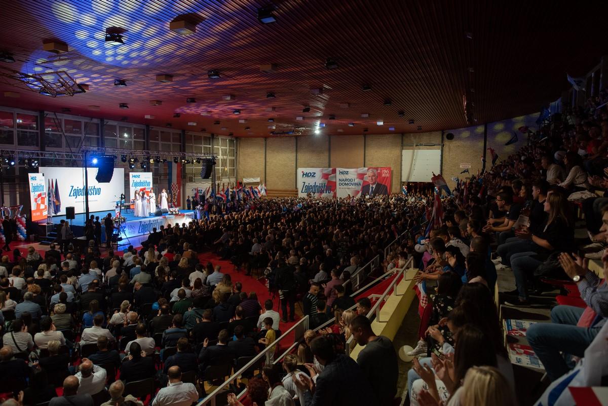 Sa skupa u Mostaru lideri HDZ-a BiH poslali jake poruke