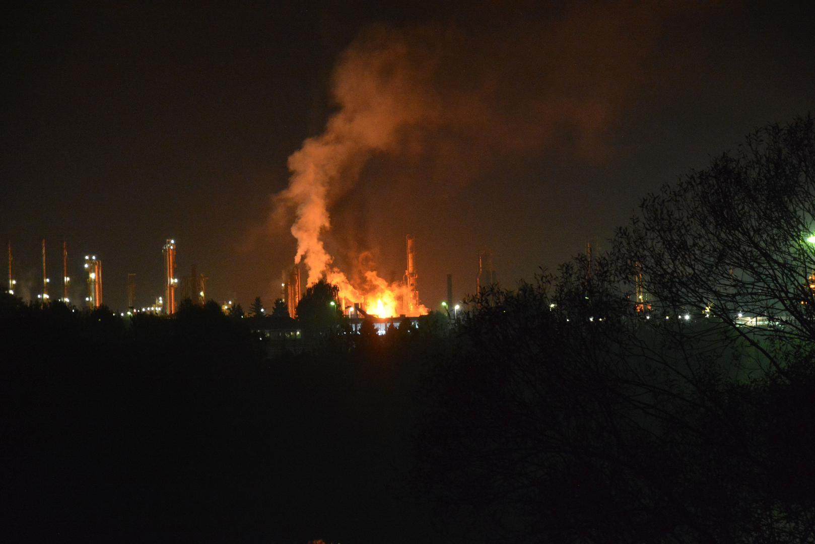 Eksplozija rafinerije u Bosanskom Brodu