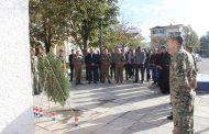 Vijenci i svijeće za poginule hrvatske branitelje