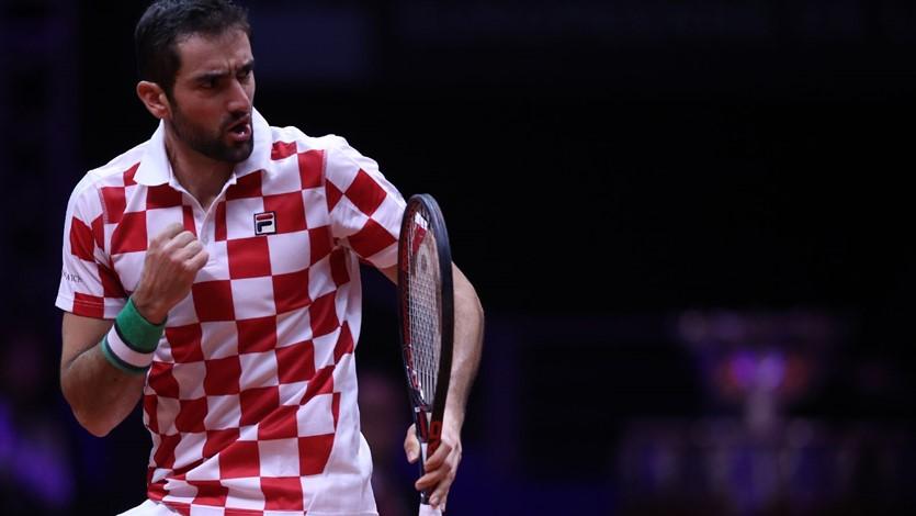Marin Čilić doveo Hrvatsku na korak do osvajanja Davis Cupa