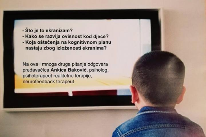 NAJAVA: Predavanja o utjecaju ekrana na mozak djece