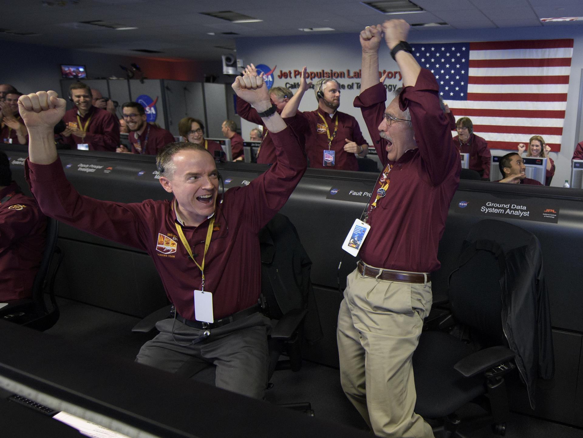 NASA slavi: Bespilotna letjelica uspješno sletjela na Mars