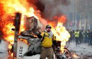 Pogledajte kako Pariz izgleda dan nakon velikog prosvjeda 'žutih prsluka
