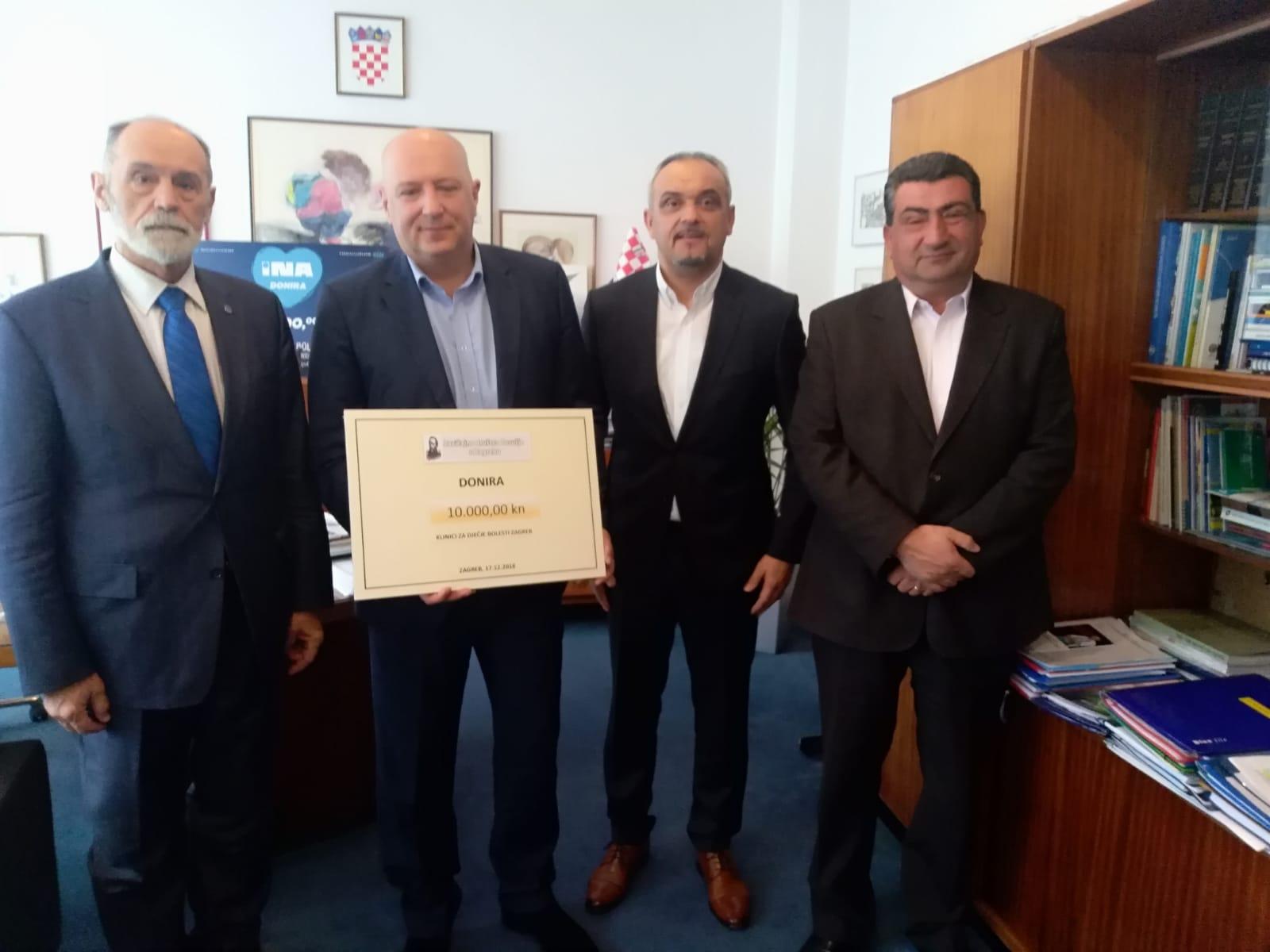 Humanitarna akcija Zavičajnog društva Posušja u Zagrebu
