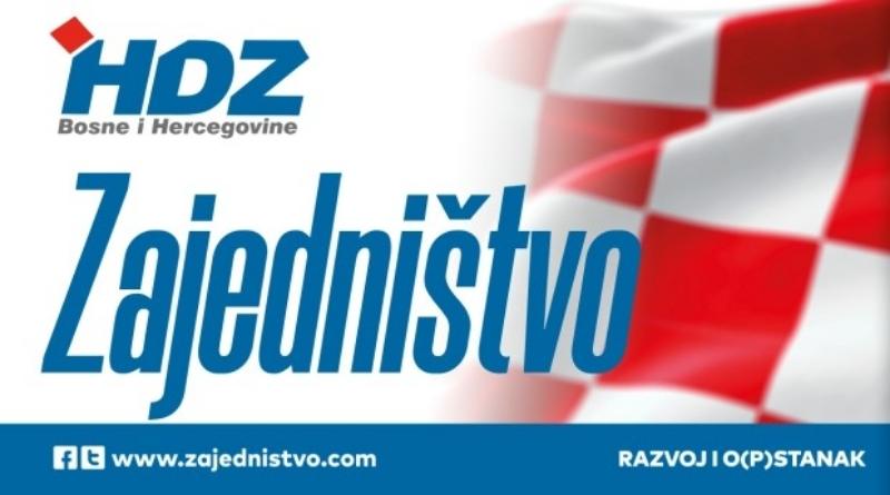 OO HDZ BiH Posušje pozdravio usvajanje Deklaracije o Hrvatima u BiH