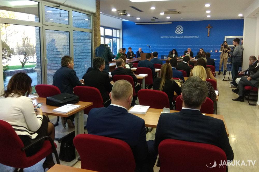 Skupština ŽZH usvojila Prijedlog Proračuna za 2019. godinu