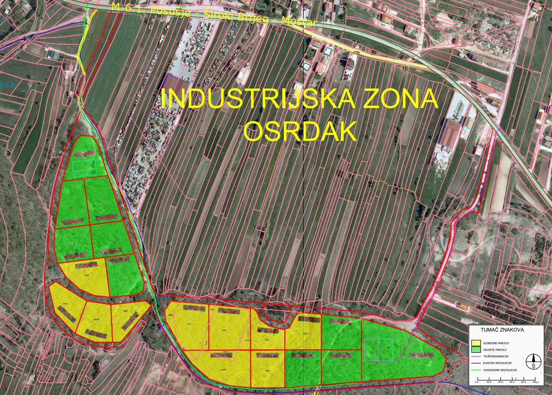 Nova sredstva za poduzetničke zone u Posušju i Livnu
