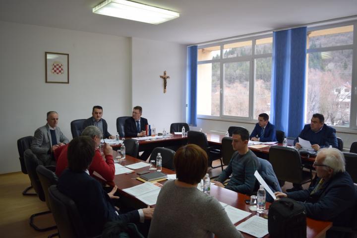 U Širokom Brijegu održana 1. sjednica Civilne zaštite Županije Zapadnohercegovačke