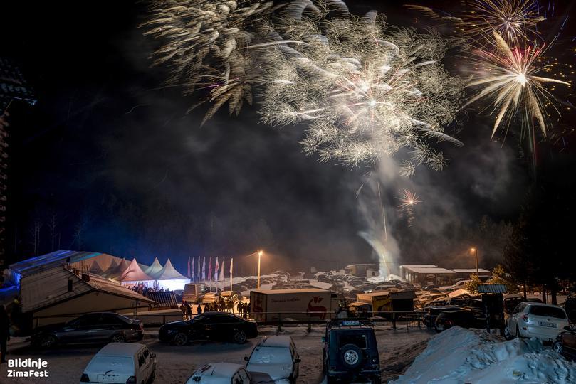 Tisuću ljudi iz cijele regije na Blidinju dočekalo Novu godinu