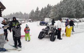 Prava snježna idila na Blidinju, unatoč buri i minusima