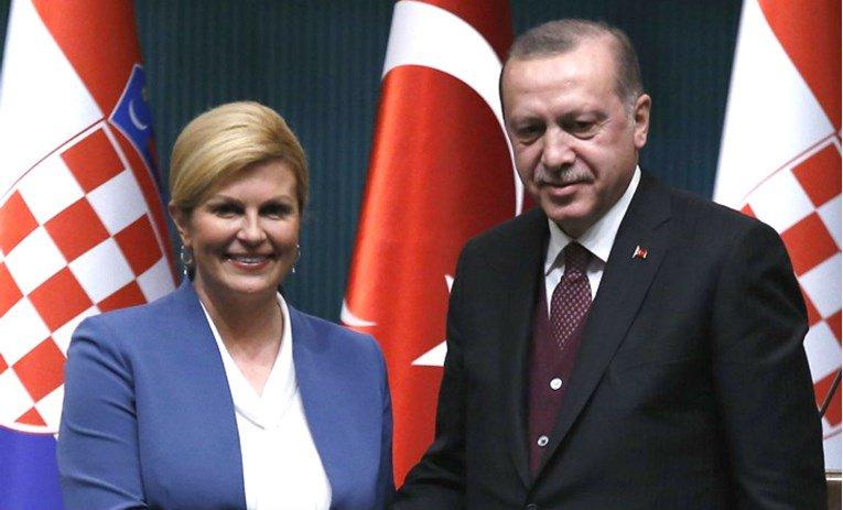 Erdogan nakon sastanka s Grabar-Kitarović: Daytonski sporazum treba mijenjati