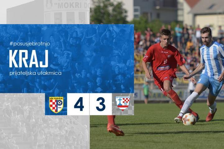 Pobjeda HŠK Posušja u pripremnoj utakmici protiv Brotnja