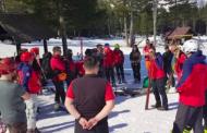 Tečaj zimskih tehnika spašavanja Saveza Gorskih službi spašavanja (GSS) u BiH