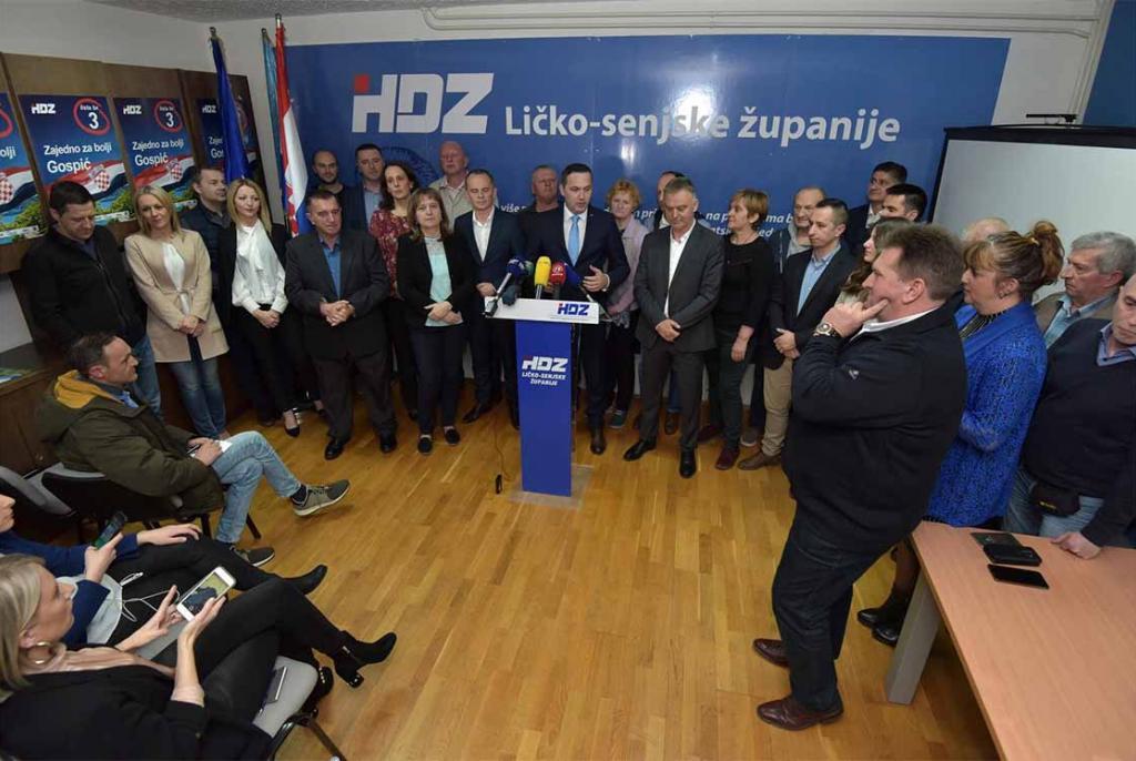HDZ-u pobjeda u Lici, totalni potop SDP-a