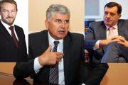 Dodik, Čović i Izetbegović dogovorili principe vlasti, idući tjedan o podjeli resora