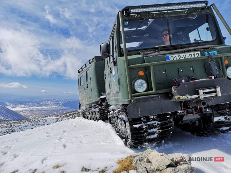 Avantura Pločno: U vozilu za ekstremne uvjete dosegli vrh Čvrsnice