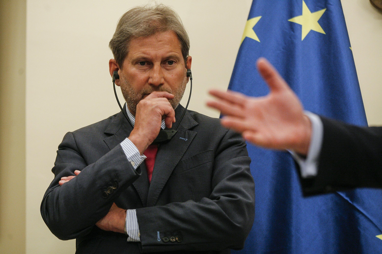 Zbog prisustva Komšića predstavnici HNS-a odbili zajedničku sjednicu s Johannesom Hahnom