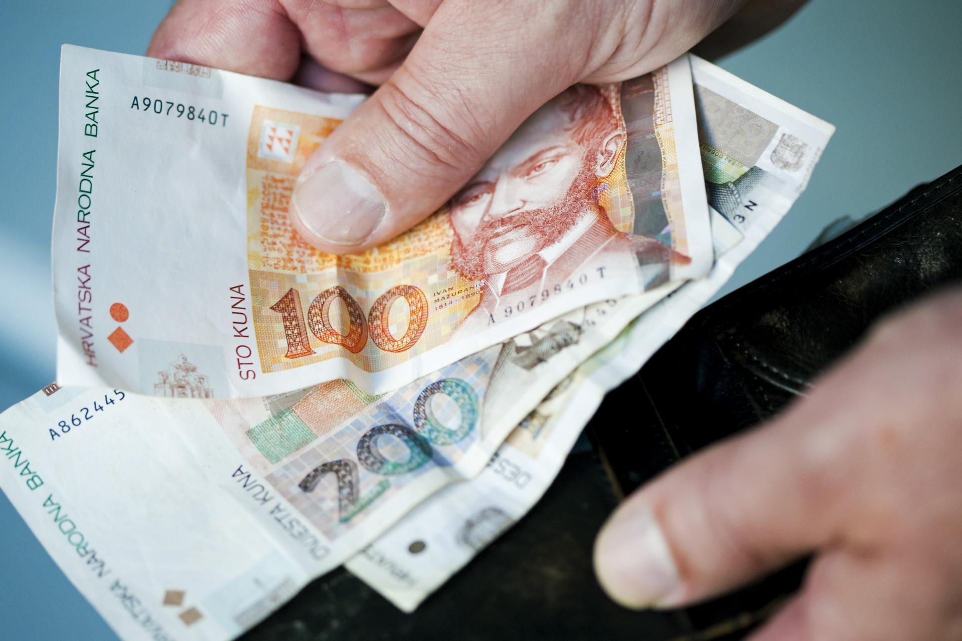 Minimalac u Njemačkoj 1116 eura, Luksemburgu 2000, Hrvatskoj 400, a BiH 208 eura