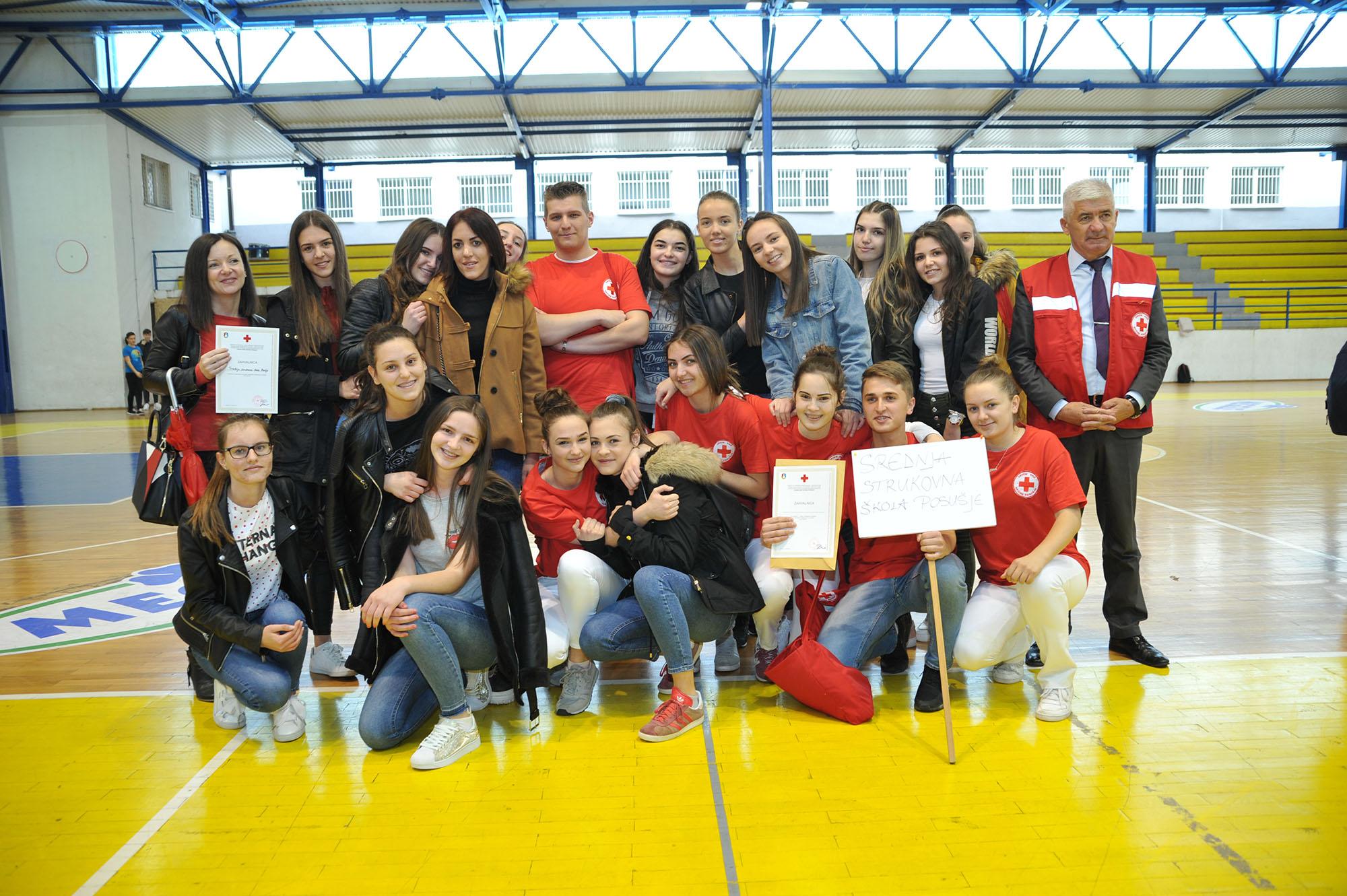 Učenici iz Rakitna i SSS Posušje pobjednici u natjecanju iz pružanja prve pomoći