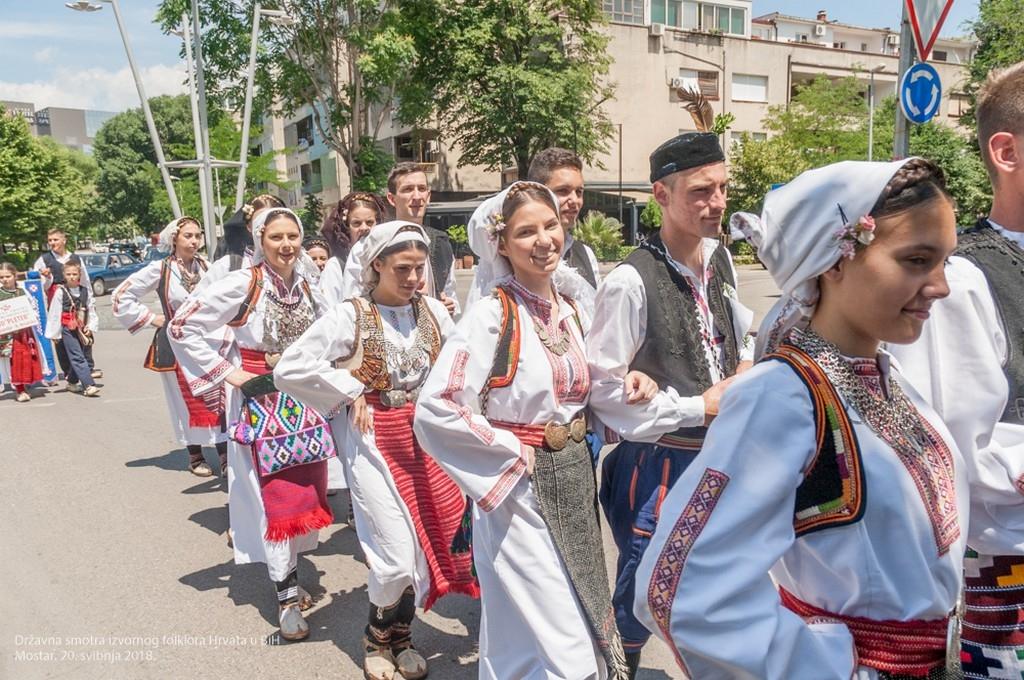 NAJAVA: Državna smotra izvornog folklora Hrvata u BiH