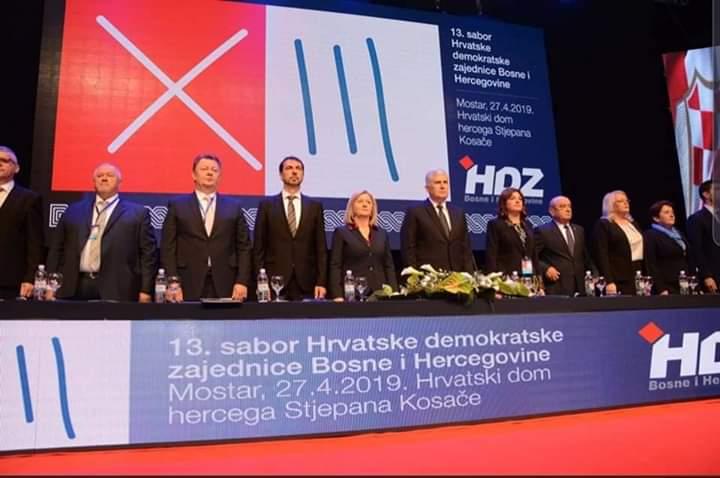 Dr. Dragan Čović ponovno izabran za predsjednika HDZ-a BiH – izabrano i novo Predsjedništvo