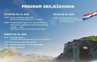 Obilježavanje 27. obljetnice utemeljenja HVO-a u Kninu u četvrtak, petak i subotu