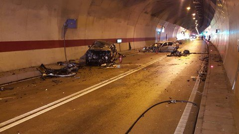 Teška nesreća u tunelu Sv. Ilija, vozač umro u bolnici