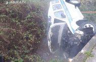 Vozilo Granične policije sletilo s ceste u Grudama