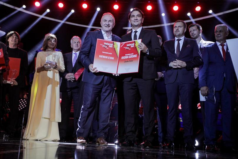 Večernjakov pečat: Vatreni iz BiH proglašeni osobama godine