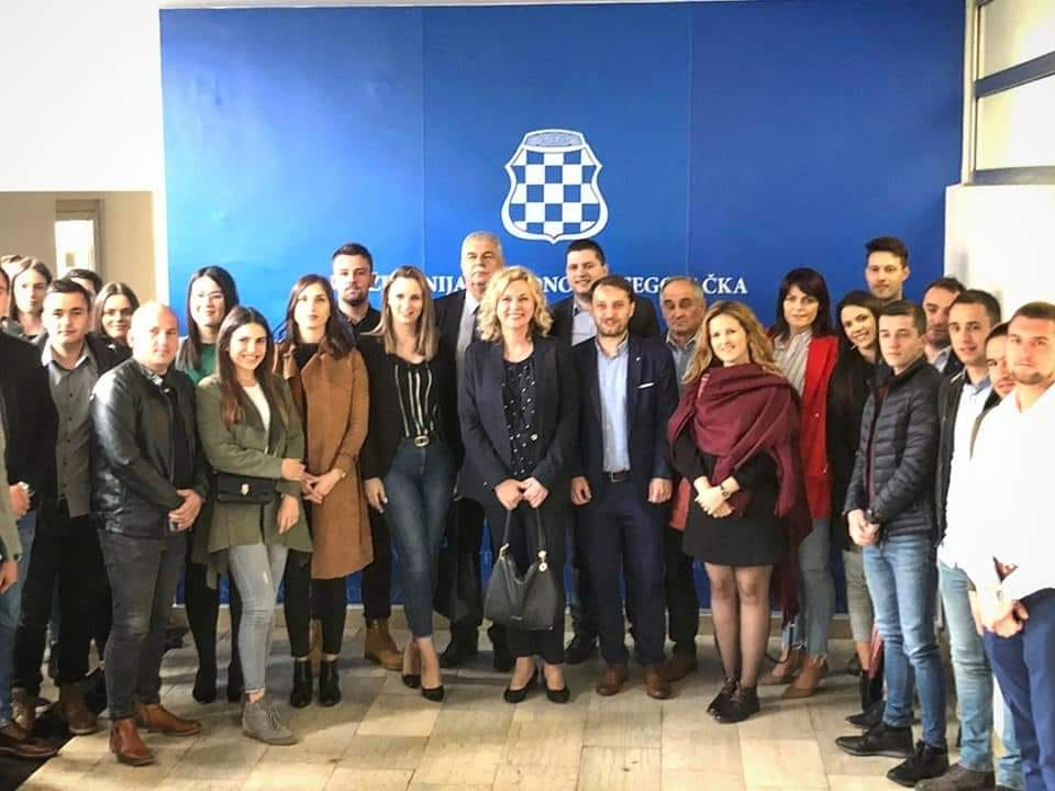 Željana Zovko u Širokom Brijegu: Glas Hrvata iz BiH snažno se čuje u Europskom parlamentu