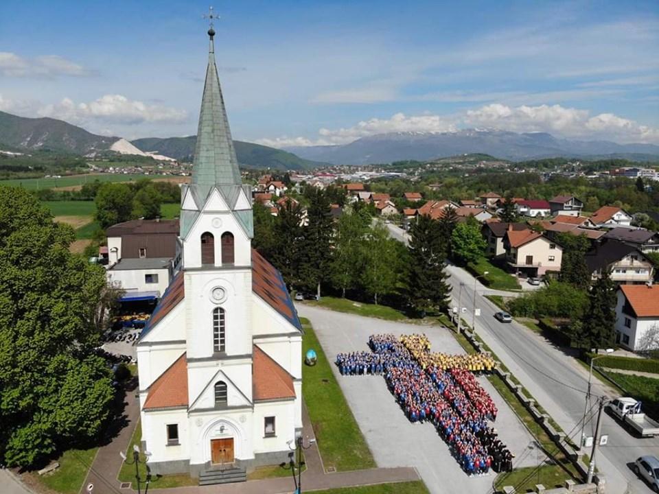 II. nacionalni susret Franjevačke mladeži BiH u Vitezu