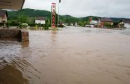 Teška situacija u Žepču: Velika količina vode na cesti, odroni otežavaju promet