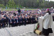 Obilježena 74. godišnjica Bleiburške tragedije, obljetnici nazočilo izaslanstvo HDZ-a BiH i Hrvatskog narodnog sabora