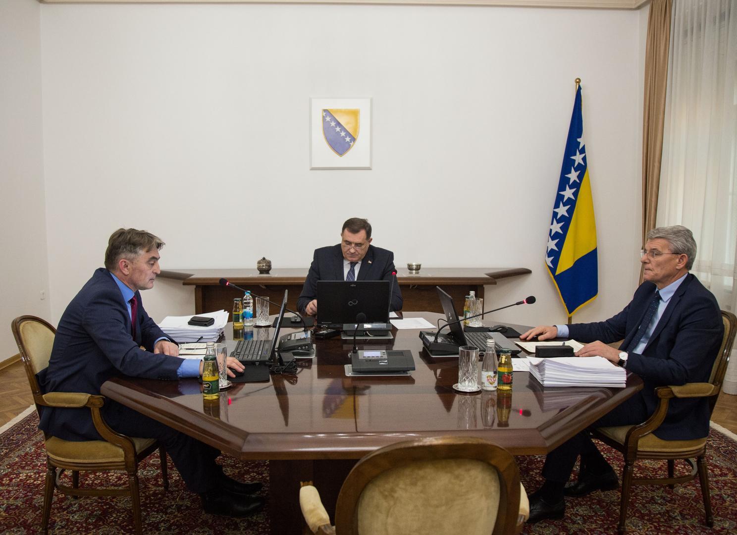 Samo sukobi: Predsjedništvo BiH bez vizije, ali i kompromisa
