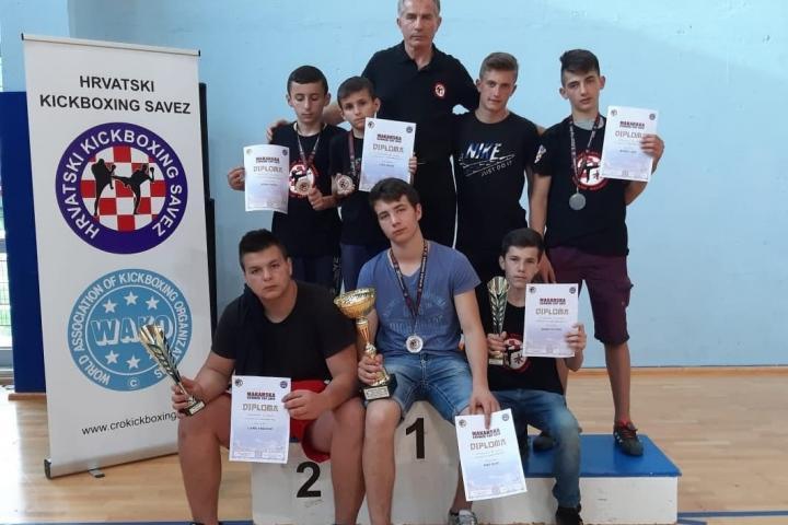 """Uspjeh za članove Kickboxing kluba """"Vitez Mile Bošnjak"""""""