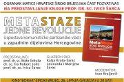 Široki Brijeg: Predstavljanje knjige o uspostavi komunističke vlasti u Hercegovini