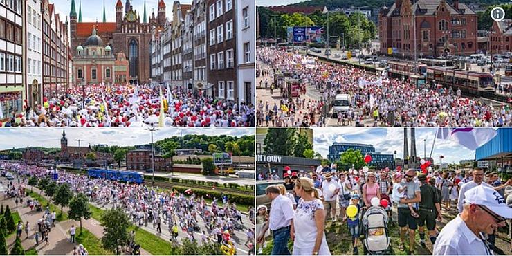 U Poljskoj održan Hod za život i obitelj u 130 gradova: Preko 200.000 ljudi protiv spolnog odgoja u školama