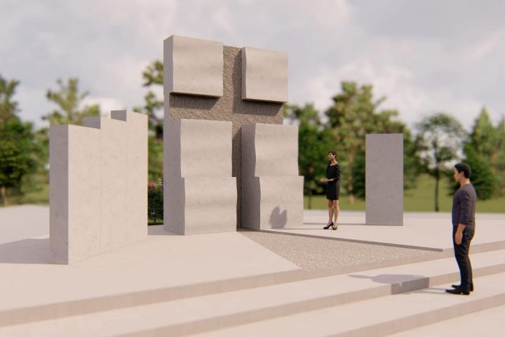 Uzdol: Spomenik poginulima na ramskom bojištu na kojem će biti upisano i deset imena posuških branitelja
