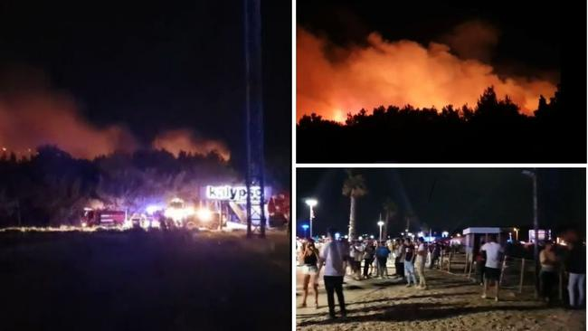 Požar na Zrću stavljen pod kontrolu. Više od 30 policajaca je na požarištu