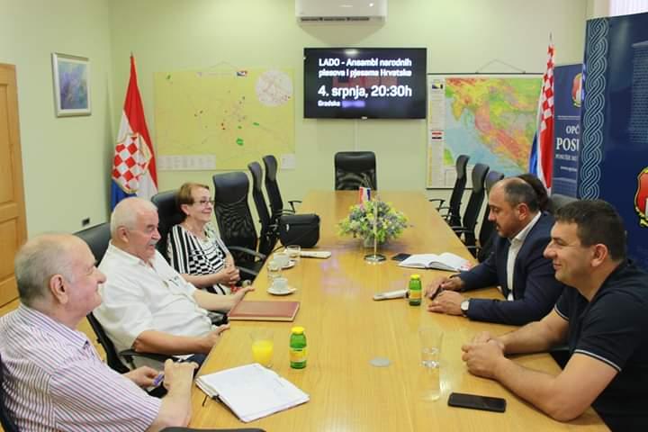Načelnik se susreo s predstavnicima Udruge umirovljenika Posušje