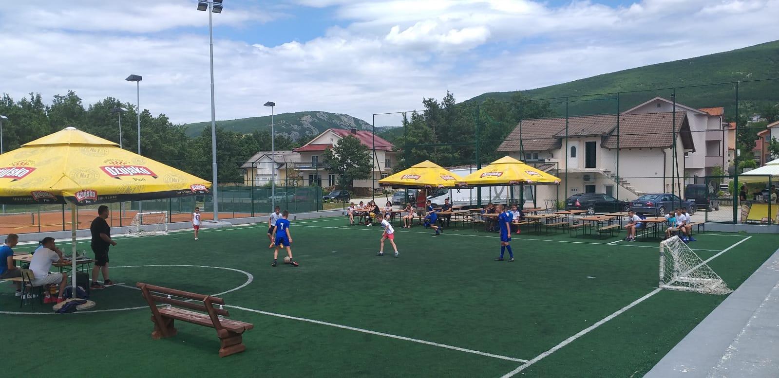 Počeo turnir u uličnom nogometu