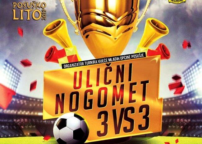 Ulični nogomet 3 na 3 u organizaciji Vijeća mladih