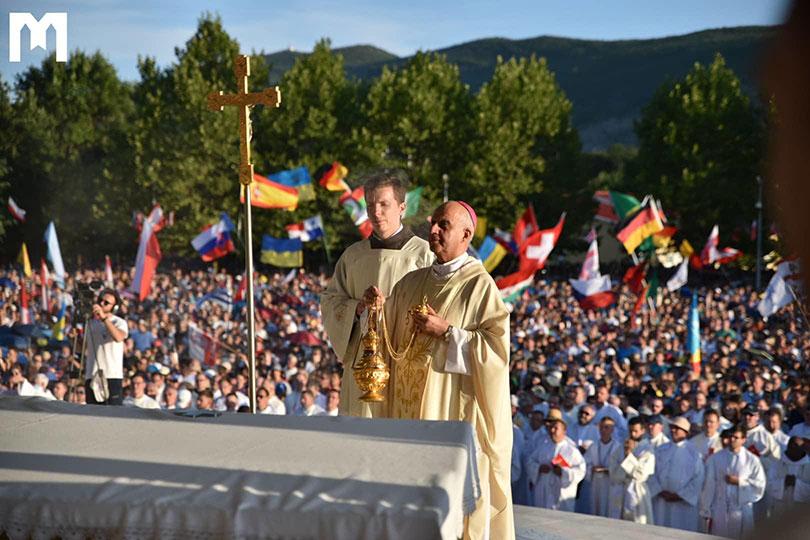 """Završen je 30. Mladifest, nadbiskup Fischella: """"Nemojmo se zaustaviti pod teškoćama života"""""""