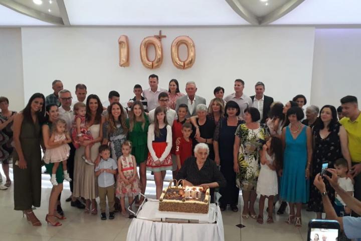 Proslavljen 100. rođendan Ivi Zovko
